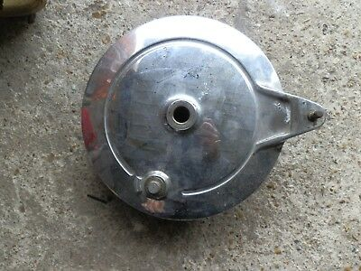 Yamaha virago 1000 rear wheel brake plate and shoes, good condi..FREE UK POST