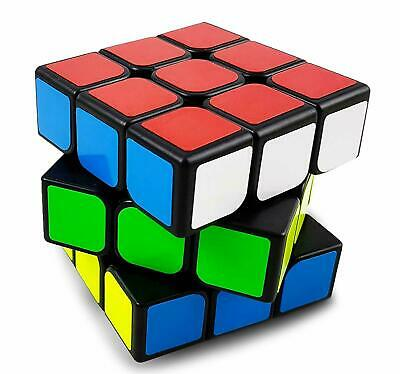 Rubik's Speed Cube  Rubiks 3x3x3 Magic Cube Puzzle toys w / Stand