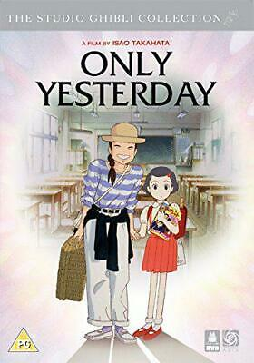 Only Yesterday [DVD] [2016], New, DVD, FREE & FAST Delivery