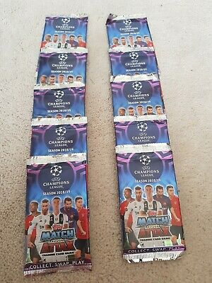 Topps Match Attax UEFA Champions League 2018-19, new  10  packs
