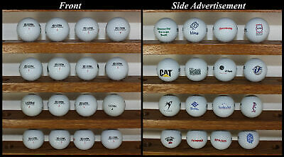 16 Golf Balls Wilson Ultra Accuracy Distance Collectible Advertisements CAT etc