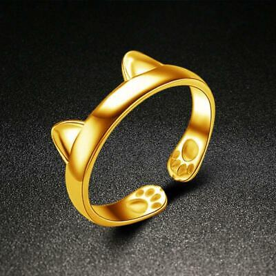 Chic Cute Women Fashion Jewelry Sets Finger Silver Gold Plated Rings 6T
