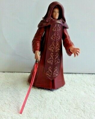 "Star Wars Palpatine Darth Sidious Revenge of the Sith 3.75"" 2005 Glowing"