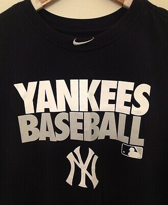 4d475190 NIKE MLB NEW York Yankees Practice Performance Dri Fit Shirt Nwt ...