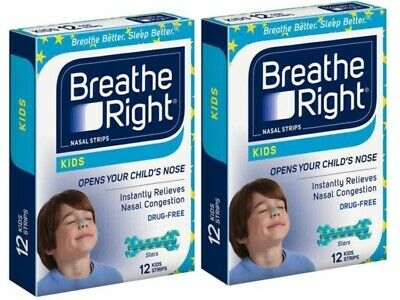 20 x Packs Nasal Strip Breathe Right Kids Reduce Snore Free Shipping 1SP