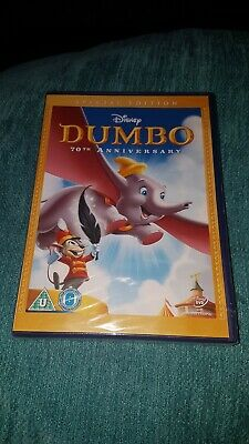Disney Dumbo.70Th Anniversary Edition.dvd.new And Sealed.
