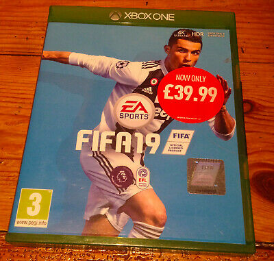 Genuine 'FIFA 19' Xbox One NEW & SEALED football soccer game FAST DISPATCH