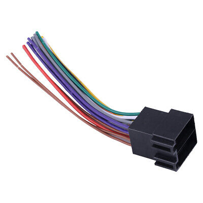 WIRE WIRING HARNESS for OEM Sony car stereo car radio head ... on vw fog lights harness, vw passat stereo install, vw compass wiring harness, vw engine wiring harness,