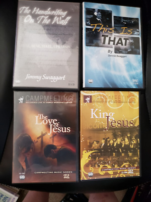 JIMMY SWAGGART 2018 Resurrection Campmeeting DVD 12-Disc Set