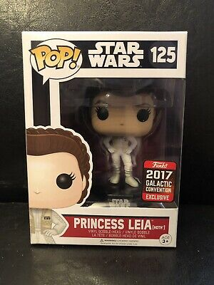 Princess Leia Hoth Star Wars Galactic Convention Exclusive 2017 Funko POP #125