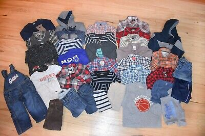 Excellent 38 PC Lot of Brand Name 18-24 Months Toddler Boys Fall Winter Clothing