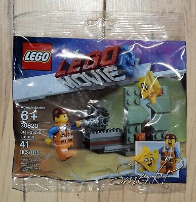 5 Sets For $35 Lego Movie 2 Star Stuck Emmet Set #30620 w// Mini  New in Plybg