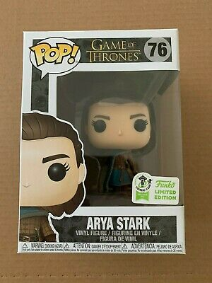 Funko Pop! Game of Thrones 76 Arya Stark Official ECCC Exclusive Soft Protector