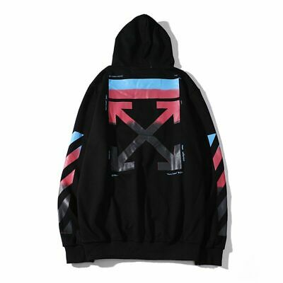 men Off White Hoodie Virgil Abloh Pyrex Vision Street Wear Jumper Sweatshirt hot
