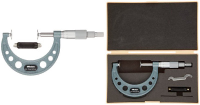 Mitutoyo 169-205 Non-Rotating Spindle Micrometre, 50 mm-75 mm Range