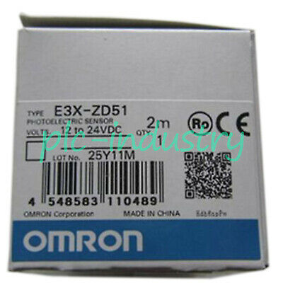 BRAND NEW OMRON E3R-5L WITH BUILT-IN AMPLIFIER PHOTOELECTRIC SENSOR PLC