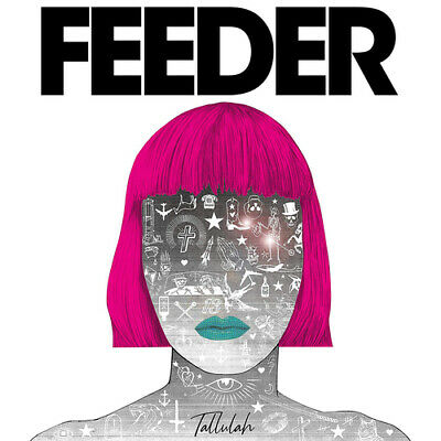 Feeder : Tallulah CD Deluxe  Album (2019) ***NEW*** FREE Shipping, Save £s