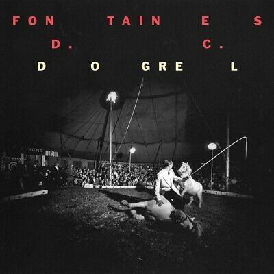 Fontaines D.C. Dogrel CD New 2019 Mercury Prize Nominee