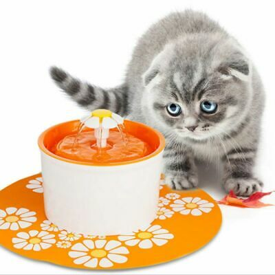 1.6L Electric Cat Water Fountain Pet Dog Cat Drinking Bowl with Automatic Filter