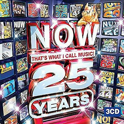 Now Thats What I Call Music! 25 Years, Various Artists, Used; Good CD
