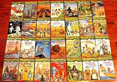 Magic Tree House Books 1-28 by Mary Pope Osborne AR Core Set L3