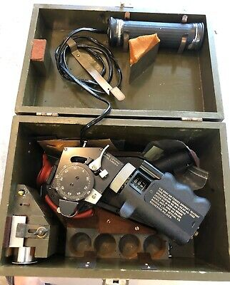 Vintage Bausch & Lomb U.S. Army Air Forces Aircraft Sextant A-8A In Case WWIII