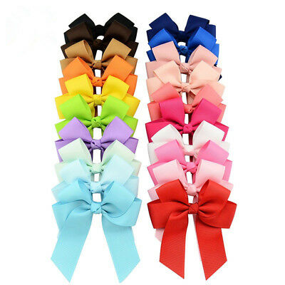 Sweet Children Kids Girls Big Bow Hairpin Child Accessories Ribbon For Gir Gifts