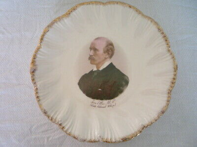 Antique Commemorative Plate Tom Ellis M P Late Liberal Whip