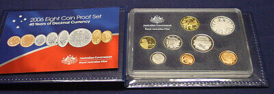 2006 Australian Proof set in box of issue with certificate.