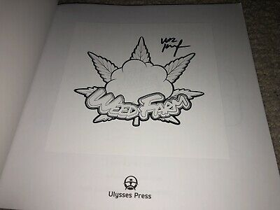 Wiz Khalifa Hand Signed Autographed Weed Farm Coloring Book Coa Rapper Music