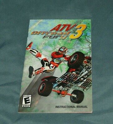ATV Offroad Fury 3 Playstation 2 PS2 System MANUAL ONLY