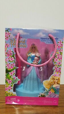 Barbie as the Island Princess Toothbrush Holder & 2 Toothbrushes