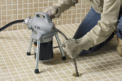 RIDGID 115-Volt K-50 Sectional Drain Cleaner Machine for 1-1/4 in. to 4 in.