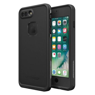 "LifeProof FRE Case for iPhone 7 Plus iPhone 8 Plus 5.5"" Asphalt Black Brand New"
