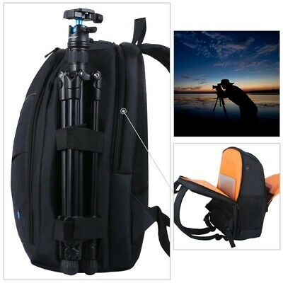 Laptop Photography Camera DSLR Bag Case for Camera Lenses Accessories Backpack