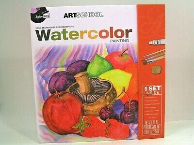 Spicebox Artschool Watercolor Kit - New And Unused