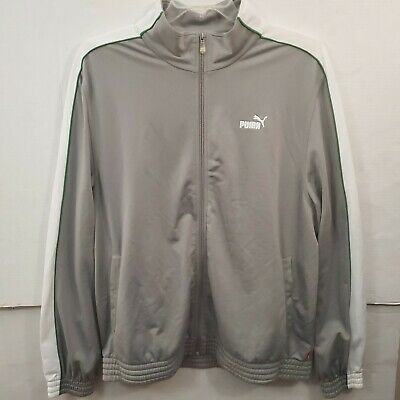 33d80b730dc35 NEW ELEVATE SPORT Mens Jacket Size L/G White And Gray Smartech ...