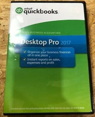 Intuit QuickBooks Desktop Pro Payroll 2017 Small Business Accounting Software