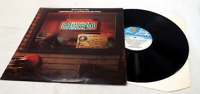 CREEDENCE CLEARWATER REVIVAL '20 Greatest Hits' Vinyl LP Fantasy - S98