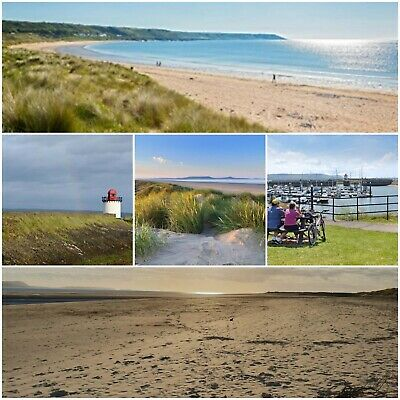 Holiday in Wales Mon -Fri in Burry Port, west Wales, short walk to beach