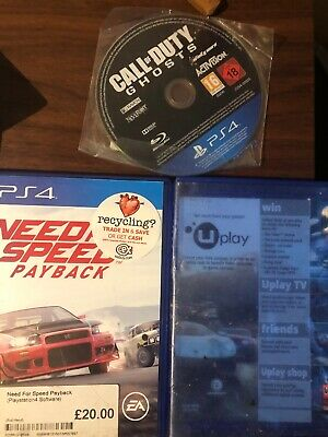 Ps4 Need for Speed Payback And More The Crew And Call Of Duty Ghost For Free