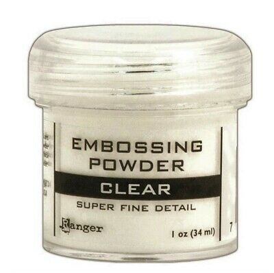 New Ranger Super Fine Embossing Powder - CLEAR