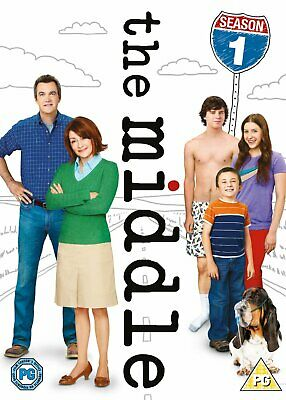 The Middle Season 1 DVD 3 Disc Comedy Tv Series Region 2  2011 New