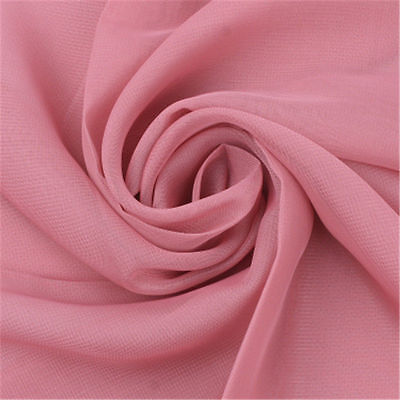 New Women's Long Fashion Soft Meat Pink Chiffon Shawl Wrap Wraps Scarf Scarves