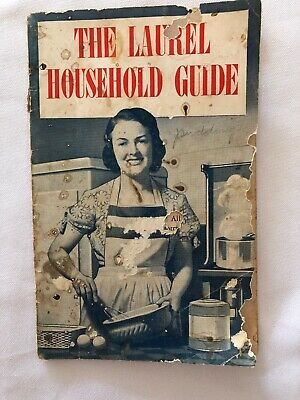 Vintage The Laurel Household Guide by Vacuum Oil Booklet Recipe Pamphlet