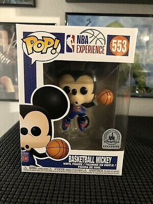 Disney NBA Experience Mickey Mouse Basketball Pop Vinyl Figure Funko IN HAND