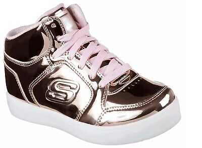 ENERGY LIGHTS BY Skechers Youth Junior Girls Gold Trainers pPQza