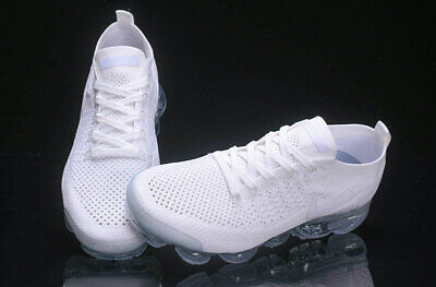 NIke Air VaporMax Flyknit 2 Men's Running Shoes Pure white