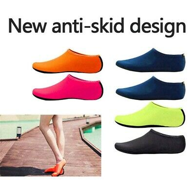 Unisex Aqua Shoes Mens Womens Water Socks Slip On Sea Wet Beach Pool Swim Surf