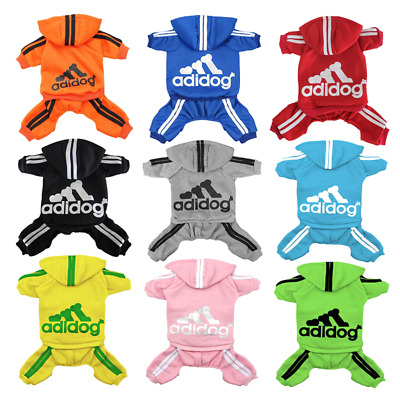 Pet Clothes Dog Cat Puppy Hoodies Coat Warm Sweater Winter Sweatshirt Dog Outfit